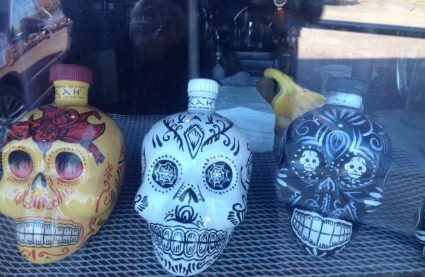 Skull Bottles