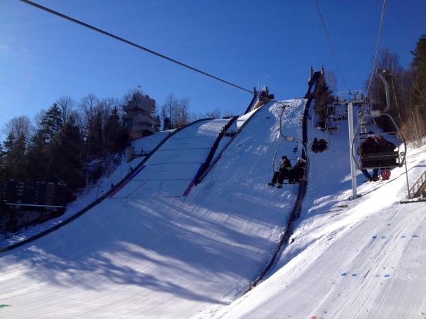 Ski Jump Chair Lift - Lake Placid, New York