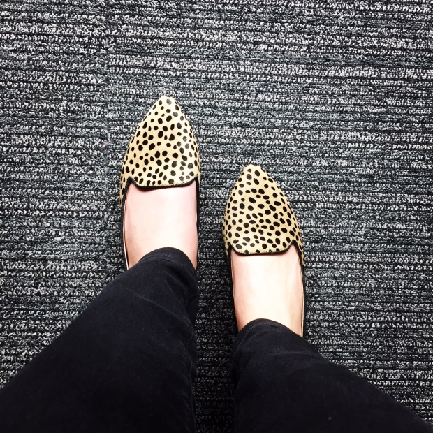Leopard Flats from DSW