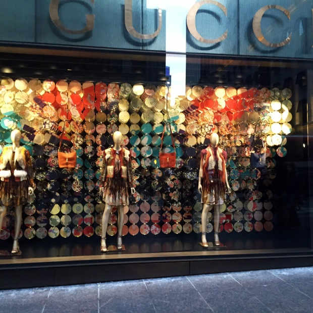 Gucci Window Display - New York City