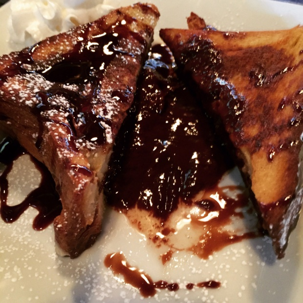 Nutella Stuffed French Toast - Parlay Gastropub