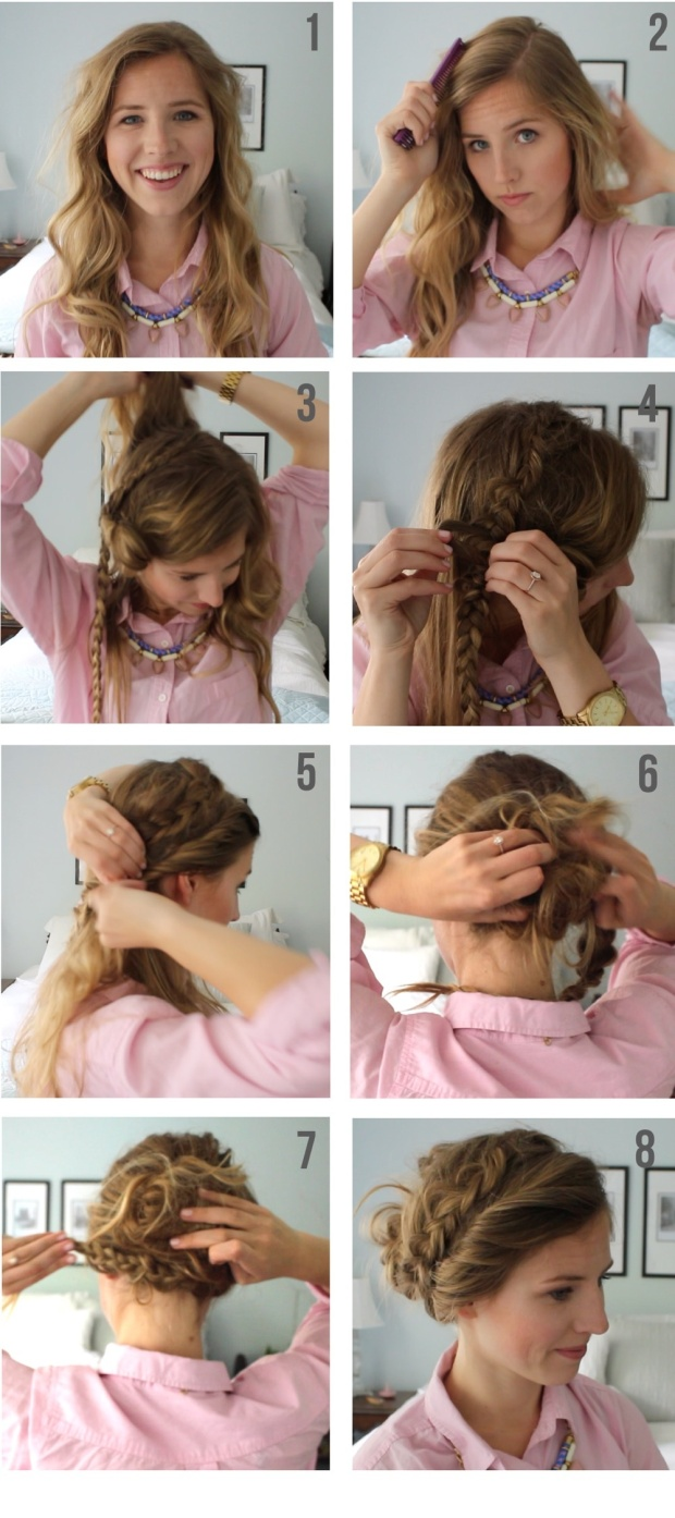 Braided Up-Do Tutorial
