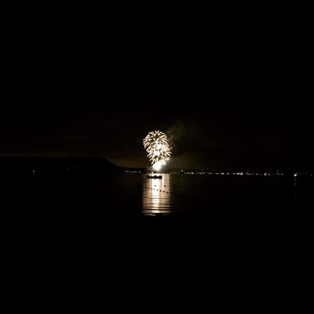 West Neck Beach Fireworks