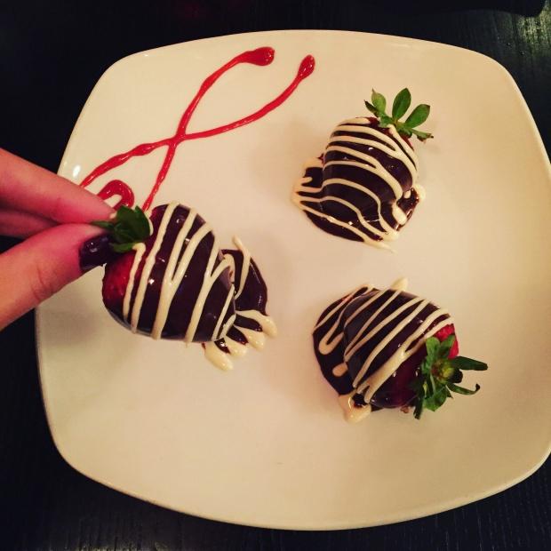 Chocolate Covered Strawberries - XO Wine and Chocolate Lounge