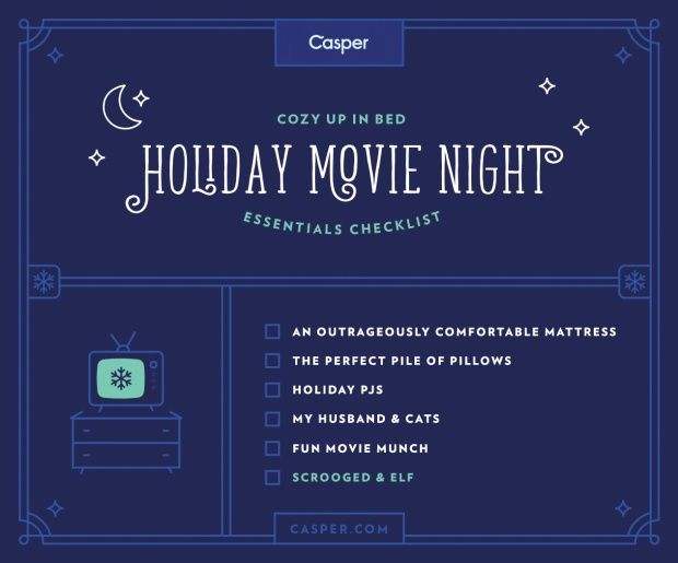 Holiday Movie Night with Casper