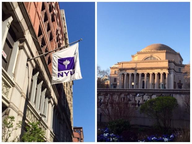 NYU and Columbia University