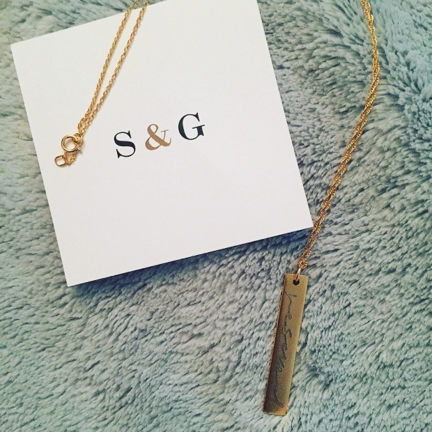 Rescued Necklace from Scarlet & Gold