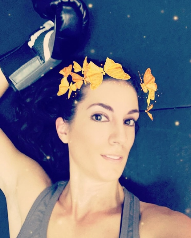 Kickboxing Selfie