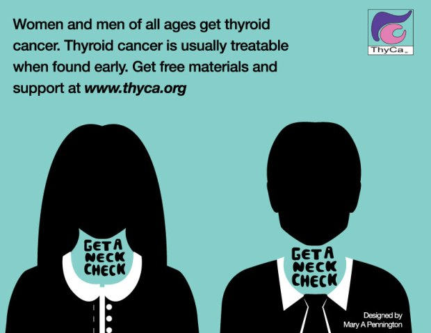 Thyroid Cancer Awareness Month – September 2016