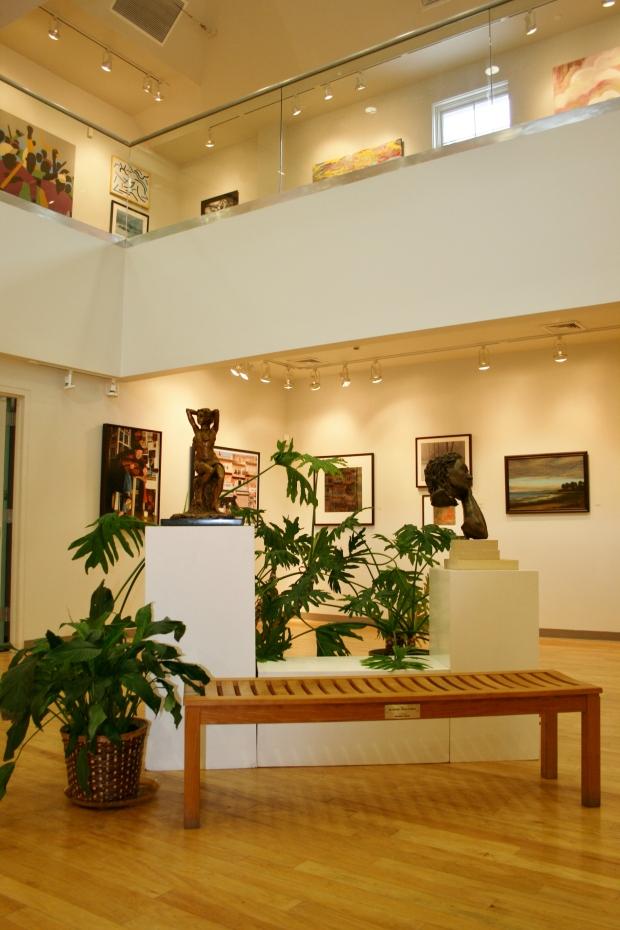 Gallery View LI Artists Exhibit Looking Up