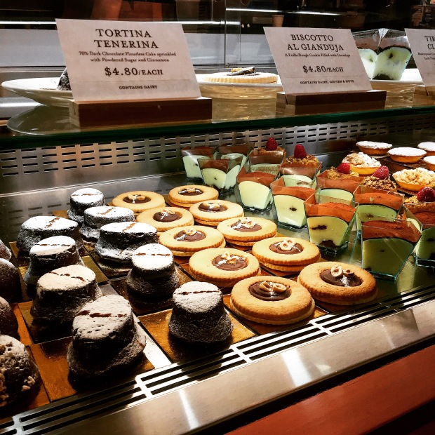 Pastries at Eataly