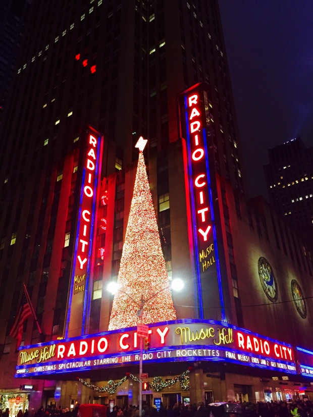 The Tree at Radio City Music Hall